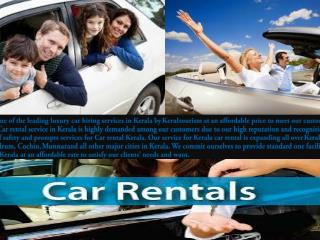 Great Discount for Kerala car hire