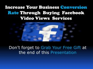 ? The Ultimate Guide How Can You Buy Facebook Video Views?