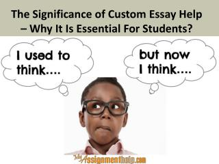 Significance of Custom Essay Help in UK, USA & Australia
