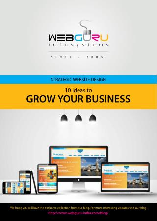 Strategic Website Design: 10 Ideas to Grow Your Business