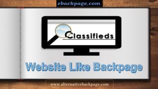 Website Like Backpage