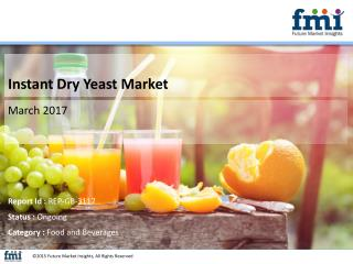 Research Offers 10-Year Forecast on Instant Dry Yeast Market
