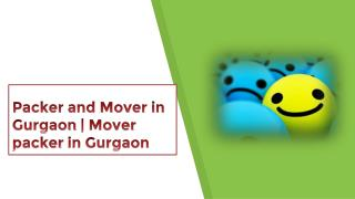 Packers and Movers in Gurgaon | Movers and Packers in Gurgaon