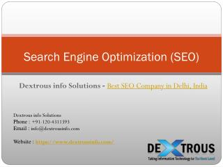 Best SEO Company in Delhi, India