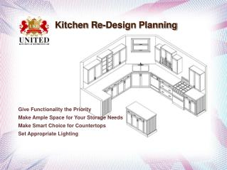 Kitchen Re-Design Planning