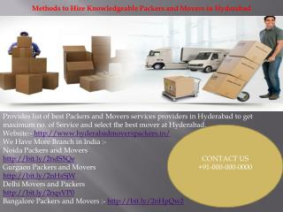 Low price Packers and movers - In Hyderabad