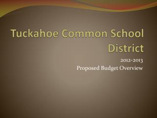Tuckahoe Common School District