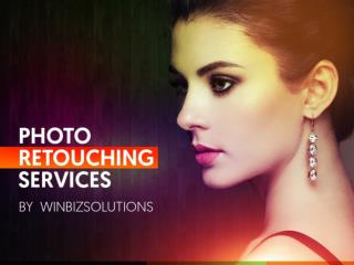 Professional photo retouching services by Winbizsolutions