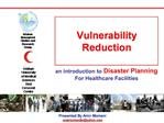 Vulnerability Reduction