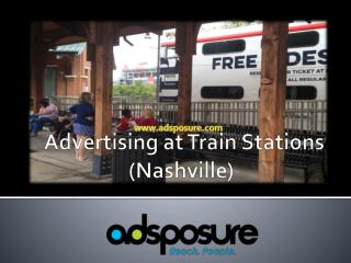 Advertising at Train Stations - Adsposure