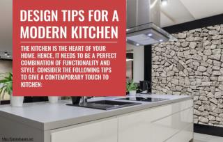 Tips for you to give a modern touch to your kitchen