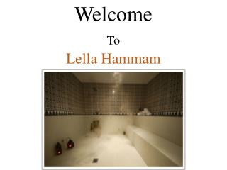 Moroccan Hammam Pamper Packages