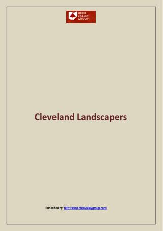 Cleveland Landscapers