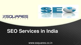 Pioneers In SEO Service In India