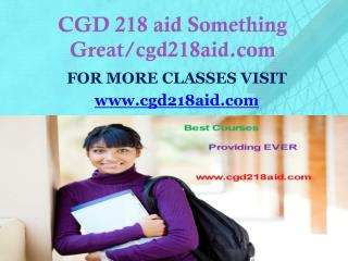 CGD 218 aid Something Great/cgd218aid.com