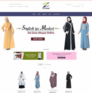 Zet Zone Islamic Clothing Indian and Western Wear for Women Men & Kids