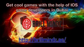 ios game development company in Dubai