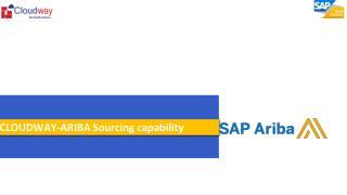 CLOUDWAY-ARIBA Sourcing capability