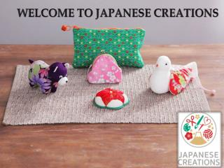 WELCOME TO JAPANESE CREATIONS