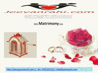 No1 #Sikh matrimony sites 100% free in india