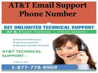 @  1~877~778~8969  --- AT&T Email Support Phone Number