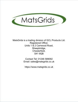 Black X-Grid® Permeable Paving Grids