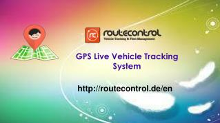 GPS Live Vehicle Tracking System