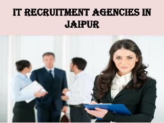 IT Recruitment Agencies in jaipur