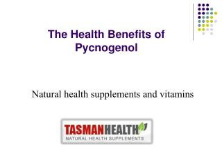 tasmanhealth.co.nz | Nature's Way Pycnogenol 50mg
