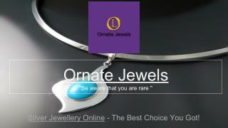Silver Jewellery - Buy Silver Jewelery Online in India