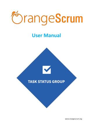 Orangescrum Task status Group add on user manual