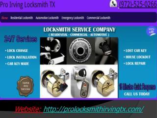 Residential Locksmith Irving TX