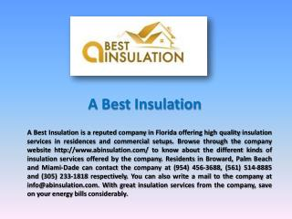 Miami Insulation Company
