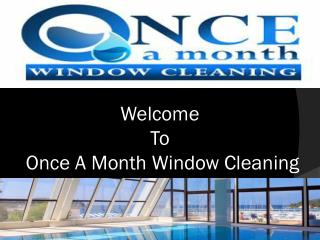 Window Cleaning Services Weybridge