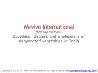 Dehydrated Carrot - Flakes and Powder | Wholesale Supplier and Dealer in India