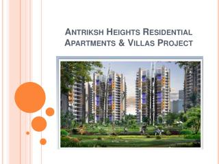 Antriksh Heights | Call +919717841117 | Sector 84 Gurgaon