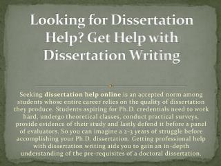Dissertation Help - Writing Service by Essay Gator in UK - USA & AUS