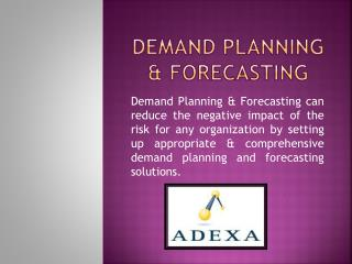 Demand Planning and forecasting can create great revenue