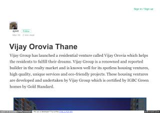 Vijay Group Thane