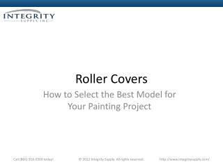 How To Select The Best Model For Your Painting Project