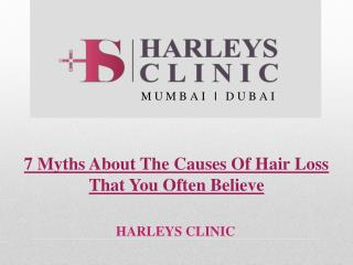 7 Myths About The Causes Of Hair Loss That You Often Believe