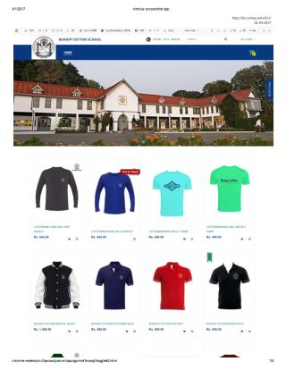 Bishop Cotton School Merchandise Online