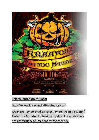 Tattoo Studios in Mumbai-Kraayonztattoostudios.com