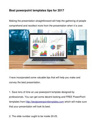 Best powerpoint templates tips for 2017