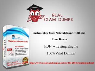 Free Download Cisco 210-260 Real Exam Questions From Realexamdumps.us