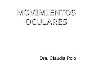 MOV OCULARES