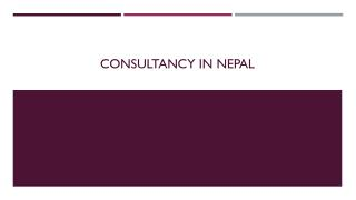 Students Consultancy