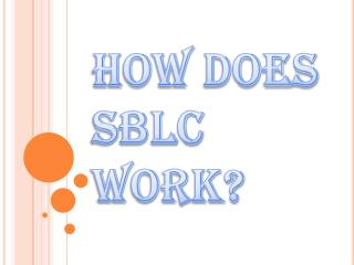 Meaning of SBLC and its Various Types