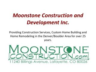 General Contractor Lafayette CO