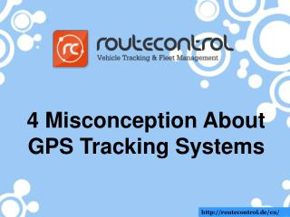 4 Misconception about GPS Tracking Systems